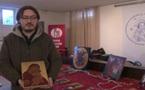 Reportage vidéo sur l'exposition-vente de charité, organisée au séminaire, pendant les fêtes de Noël