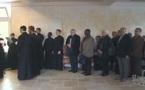Vidéo: Vêpres de Pâques et fondation de l'église en bois du séminaire