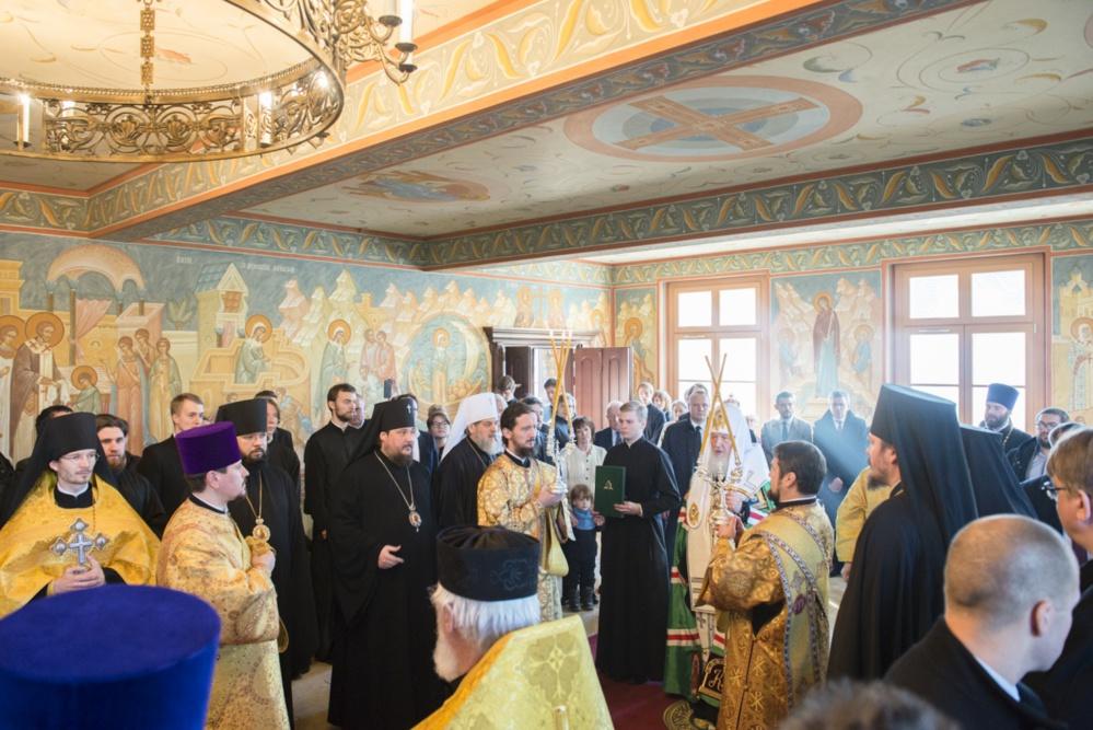 Le patriarche Cyrille de Moscou s'est rendu dans notre Séminaire