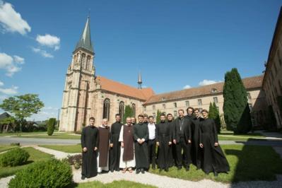 Notre camp d'été pour séminaristes russes et ukrainiens à l'abbaye Notre-Dame d'Autrey