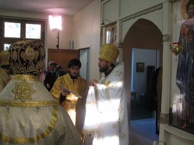Homélie de Mgr Hilarion à la liturgie le jour de l'inauguration du séminaire