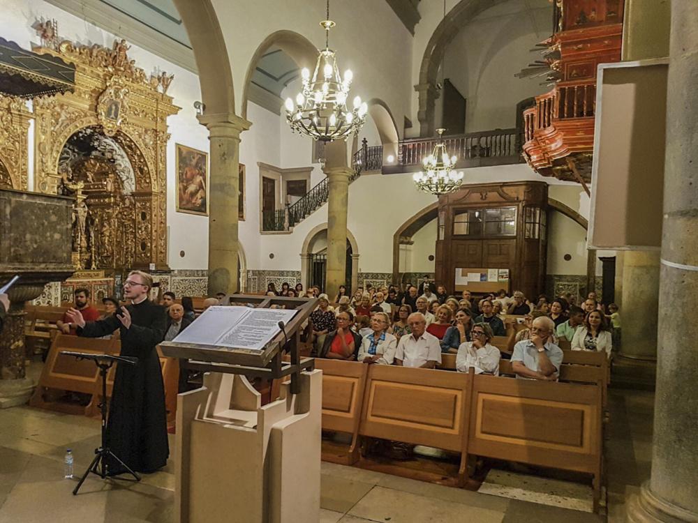 Concert à la cathédrale de Faro (Portugal)