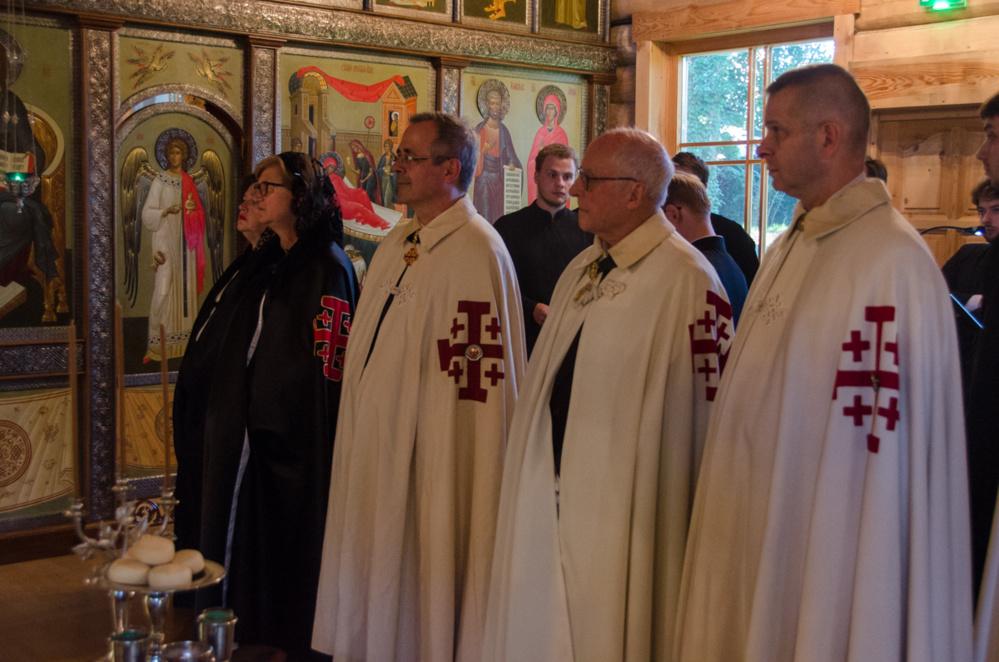 Visite des dames et des chevaliers du Saint-Sépulcre