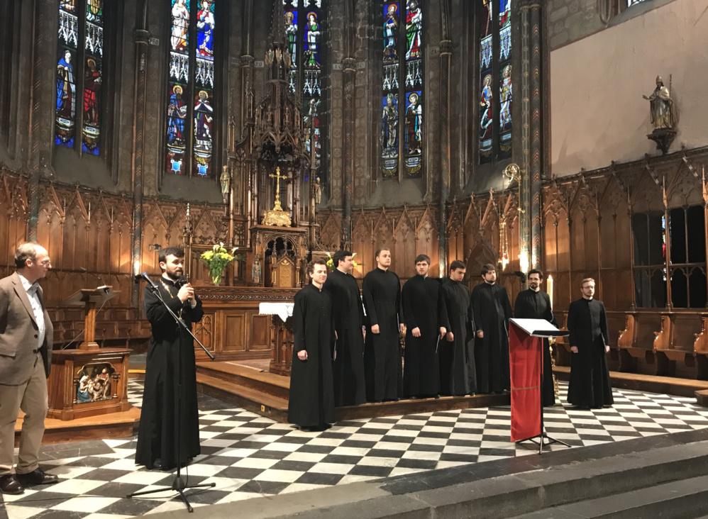 Concert du chœur du Séminaire dans l'église Saint-Genès-des-Carmes à Clermont-Ferrand