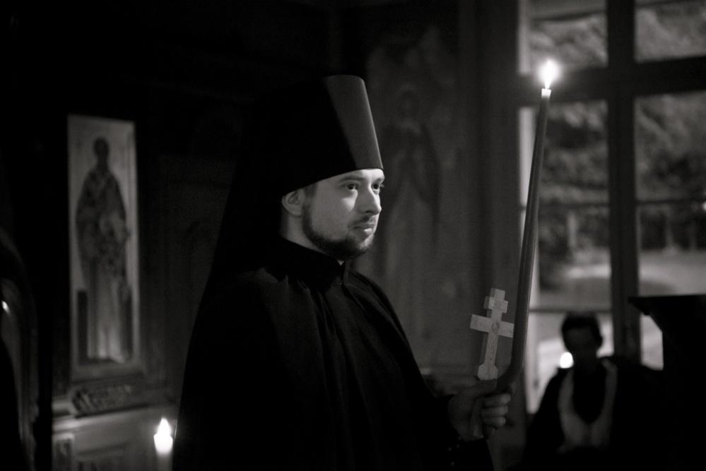 Victor Smirnov tonsuré moine avec le nom de Pierre