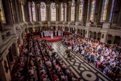 Concert commun avec les séminaristes catholiques au Séminaire Saint-Sulpice d'Issy-les-Moulineaux