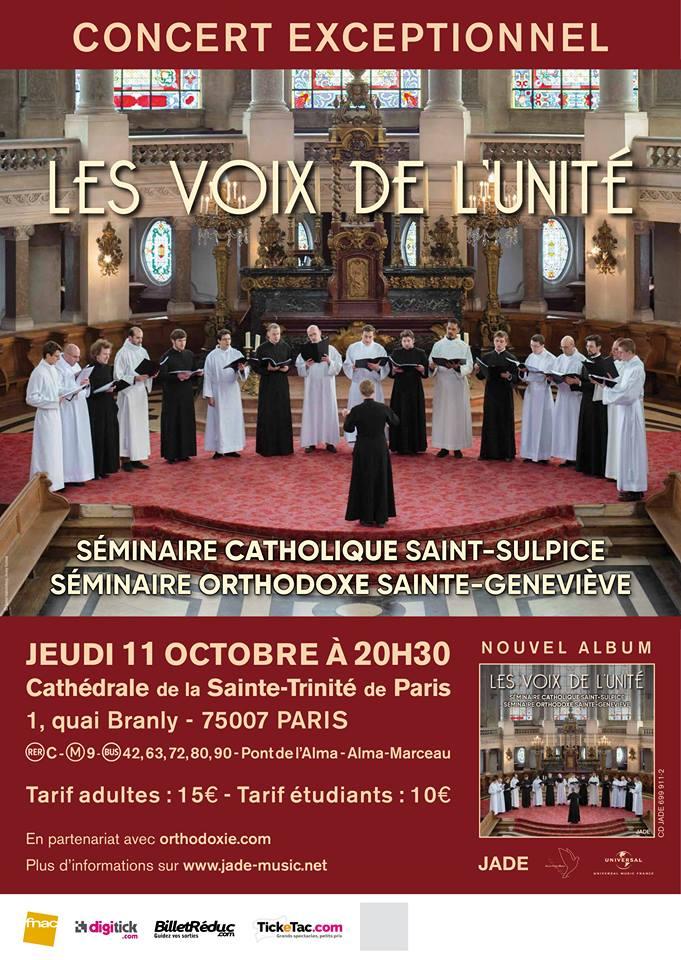 Concert exceptionnel à l'occasion de la sortie de l'album «Les Voix de l'Unité»