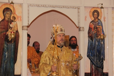 L'archevêque Marc d'Egorievsk de retour au séminaire