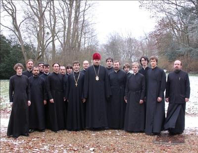Célébation de la liturgie pontificale avant le début des vacances d'hiver au séminaire