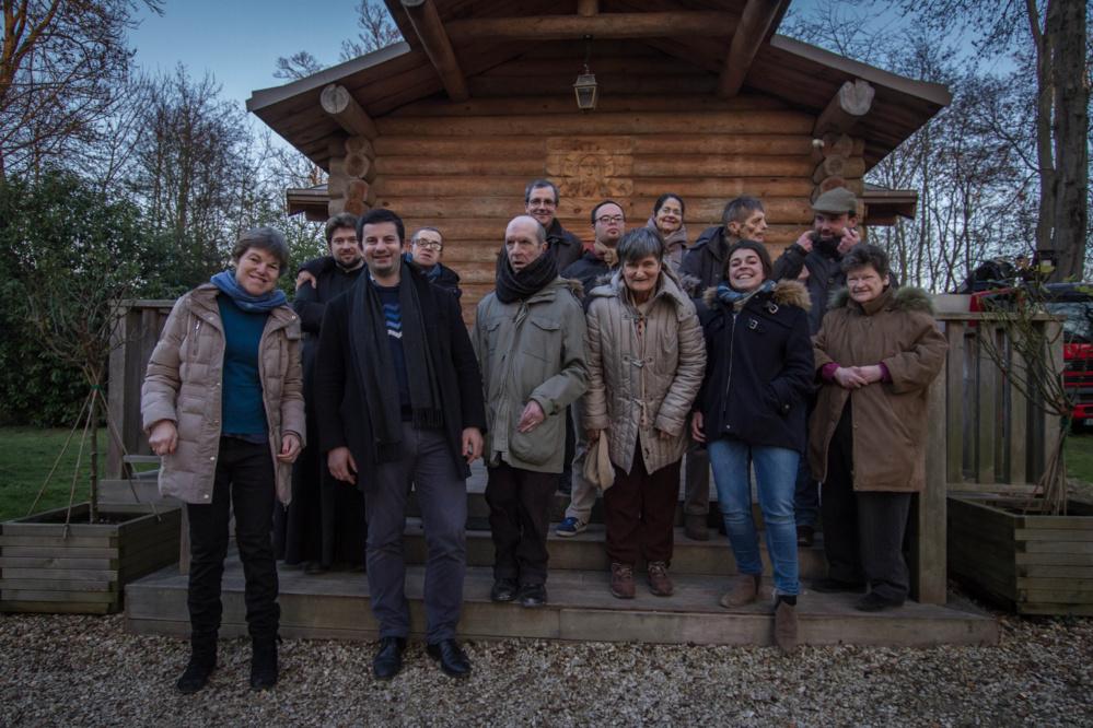 La communauté de L'ARCHE d'Aigrefoin a visité notre Séminaire