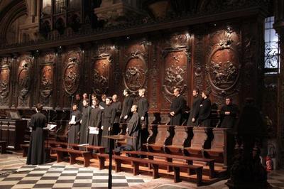 Le choeur du Séminaire a participé aux vêpres orthodoxes de la Saint Denis à Notre-Dame de Paris