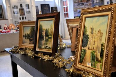 Quelques impressions de l'exposition-vente de Noël au séminaire