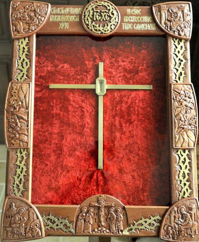 Nouveau reliquaire pour l'Epine de la Couronne du Christ
