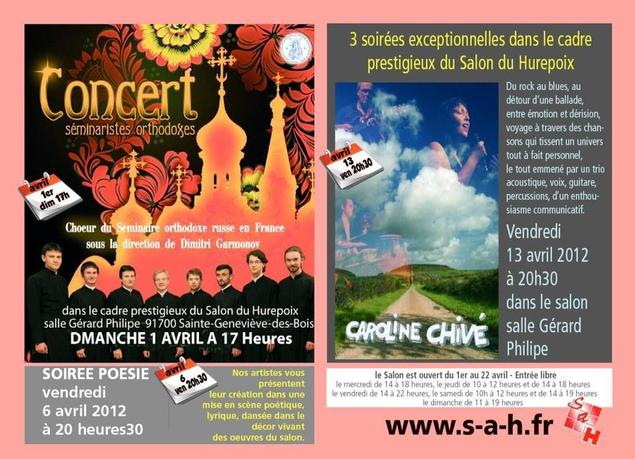Le choeur du Séminaire donnera un concert à Sainte-Geneviève-des-Bois le dimanche 1er avril