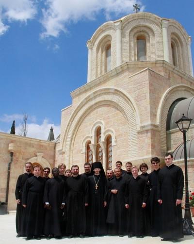 Récit du pèlerinage du Séminaire en Terre Sainte (17-23 avril 2012) - Partie I. Jérusalem