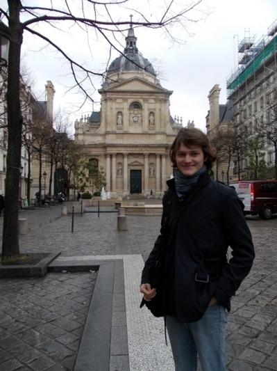 Le diacre Alexandre Zinovkin a soutenu avec succès son mémoire de master à l'Ecole pratique des Hautes Etudes