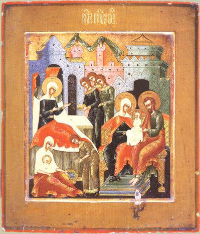 Homélie pour la solennité de la Nativité de la Mère de Dieu 2012