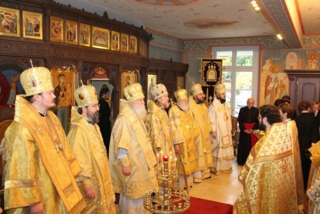 Discours du recteur du séminaire à la consécration de la chapelle Saint-Martin et Sainte-Geneviève