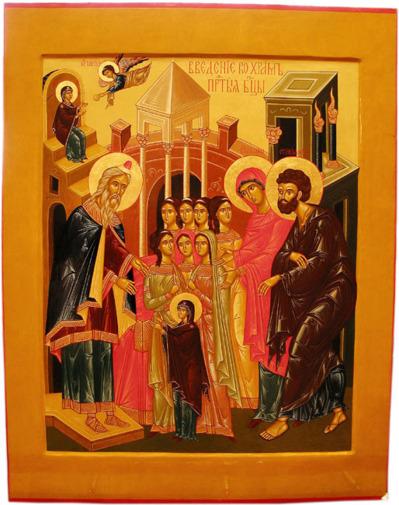 Homélie pour la solennité de la Présentation de la Mère de Dieu au Temple (2012)
