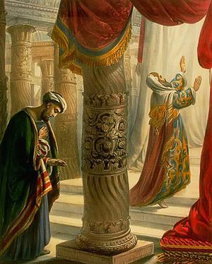 """""""Tout homme qui s'élève sera abaissé, mais celui qui s'abaisse sera élevé"""", homélie pour le dimanche du publicain et du pharisien"""