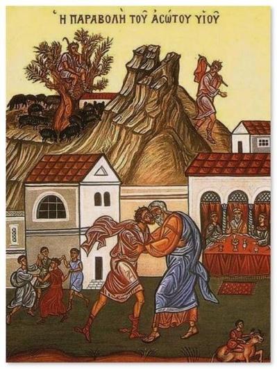 """""""Aucun homme n'est irrémédiablement perdu"""", homélie sur la parabole du retour du fils prodigue"""