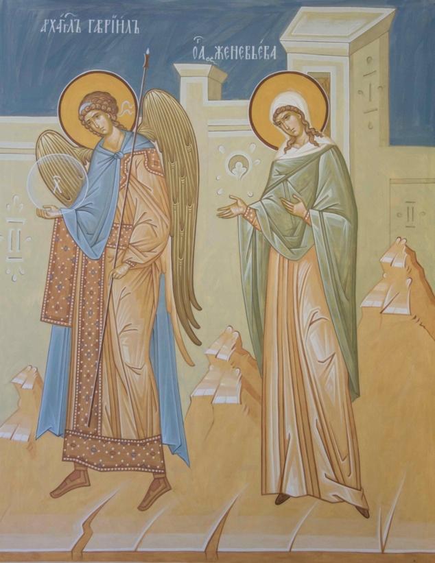 Les fresques dans le réfectoire du séminaire: présentation de ce magnifique ensemble iconographique