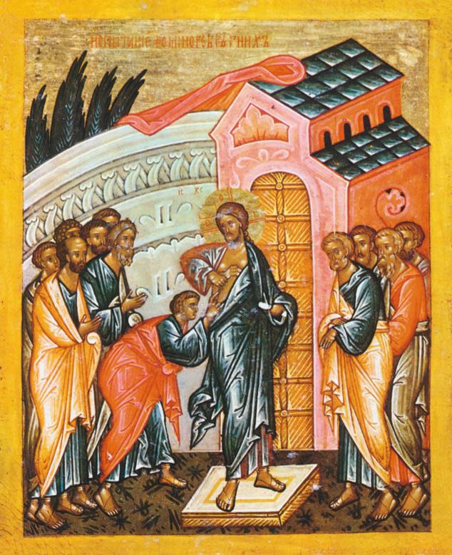 « Parce que tu m'as vu, tu as cru ; bienheureux ceux qui, sans avoir vu, ont cru », homélie pour le dimanche après Pâques
