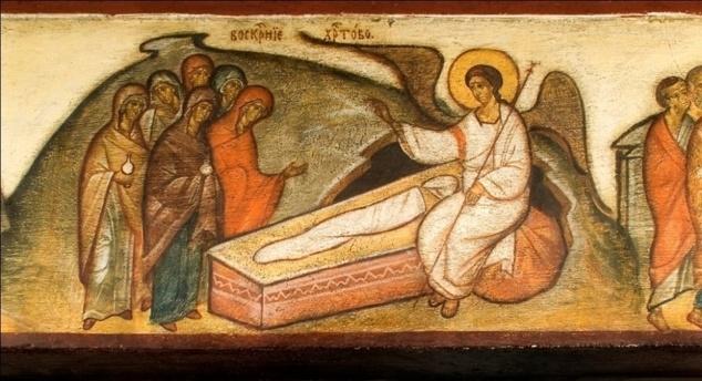 Les femmes myrrophores face au tombeau vide du Seigneur, homélie pour le troisième dimanche après Pâques