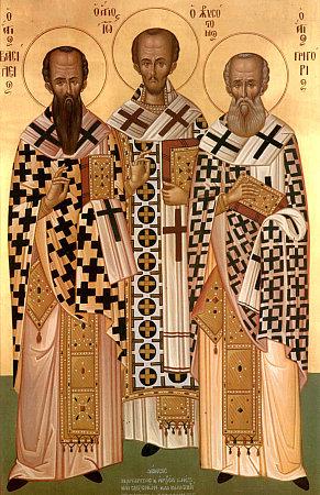 Amour de la culture, résistance au mal, affection pour l'unité: héritage des Trois Saints Docteurs. Homélie pour leur fête.