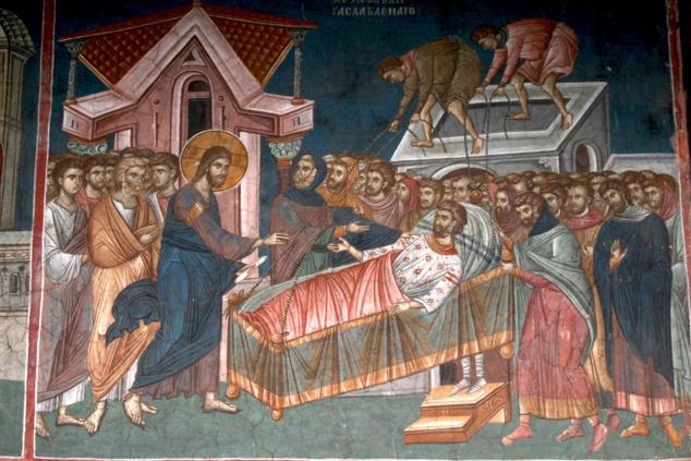 L'Église et les quatre amis du paralytique guéri par le Christ. Homélie pour le deuxième dimanche du Carême