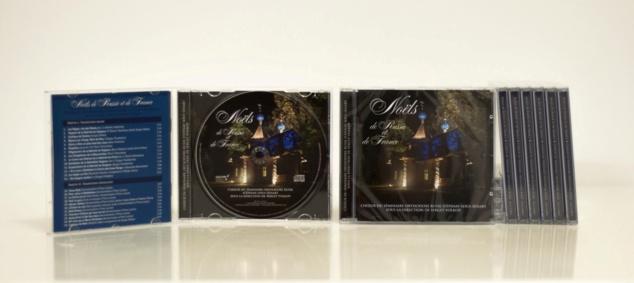"""ANNONCE: Parution du disque """"Noëls de Russie et de France"""" par le choeur du Séminaire orthodoxe russe"""