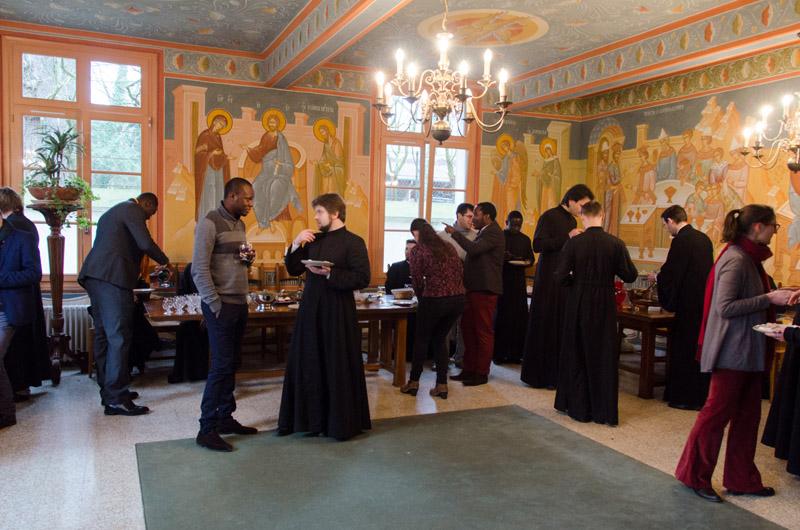 Des étudiants et jeunes professionnels des paroisses d'Athis-Mons, Juvisy et Paray-Vieille-Poste nous ont rendu visite