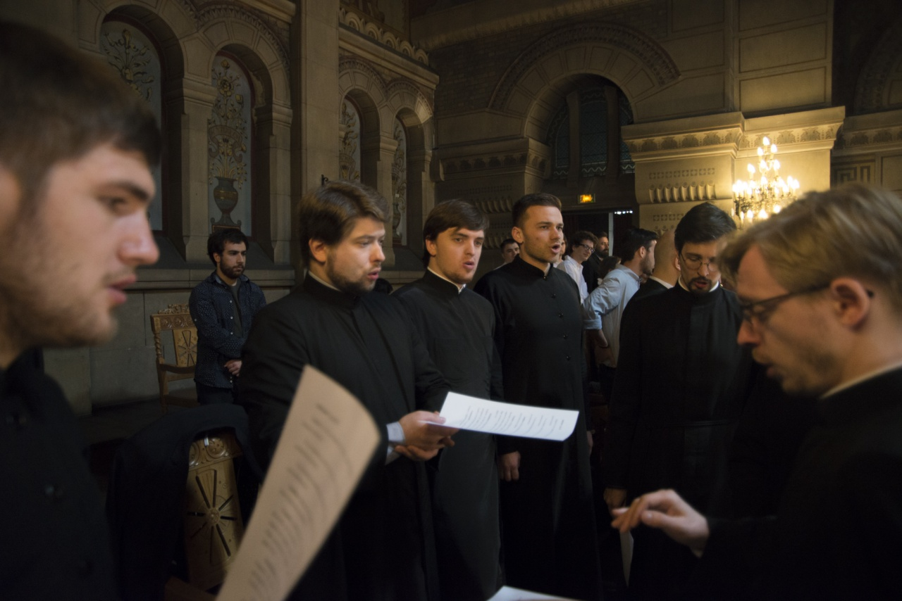 La communauté du Séminaire a participé à la Journée de l'Orthodoxie