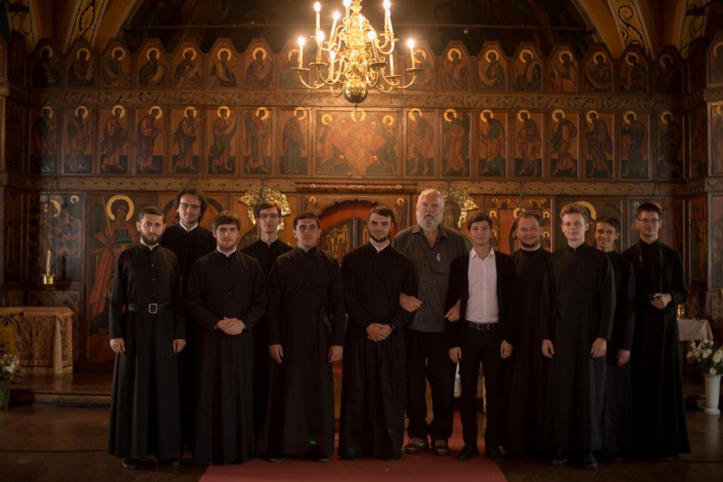 Camp d'été pour séminaristes de Russie et d'Ukraine. Reportage sur les trois premiers jours