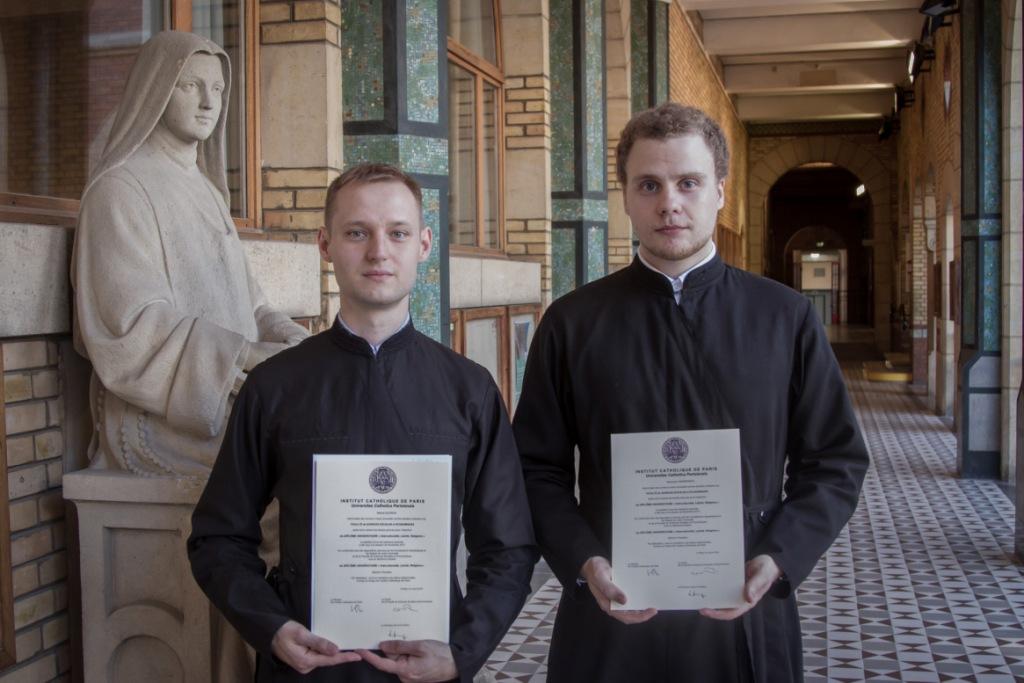 """Deux de nos séminaristes ont reçu le diplôme universitaire """"Interculturalité, laïcité, religions"""""""