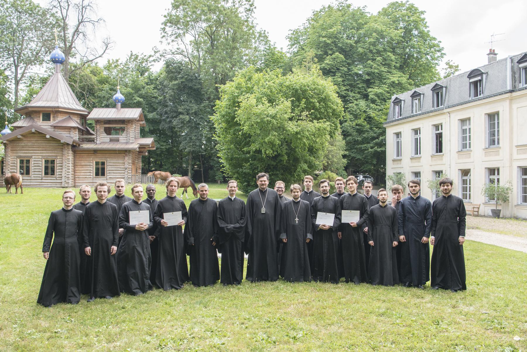 Liturgie de la fin de l'année académique: ordination presbytérale de Pierre Smirnov