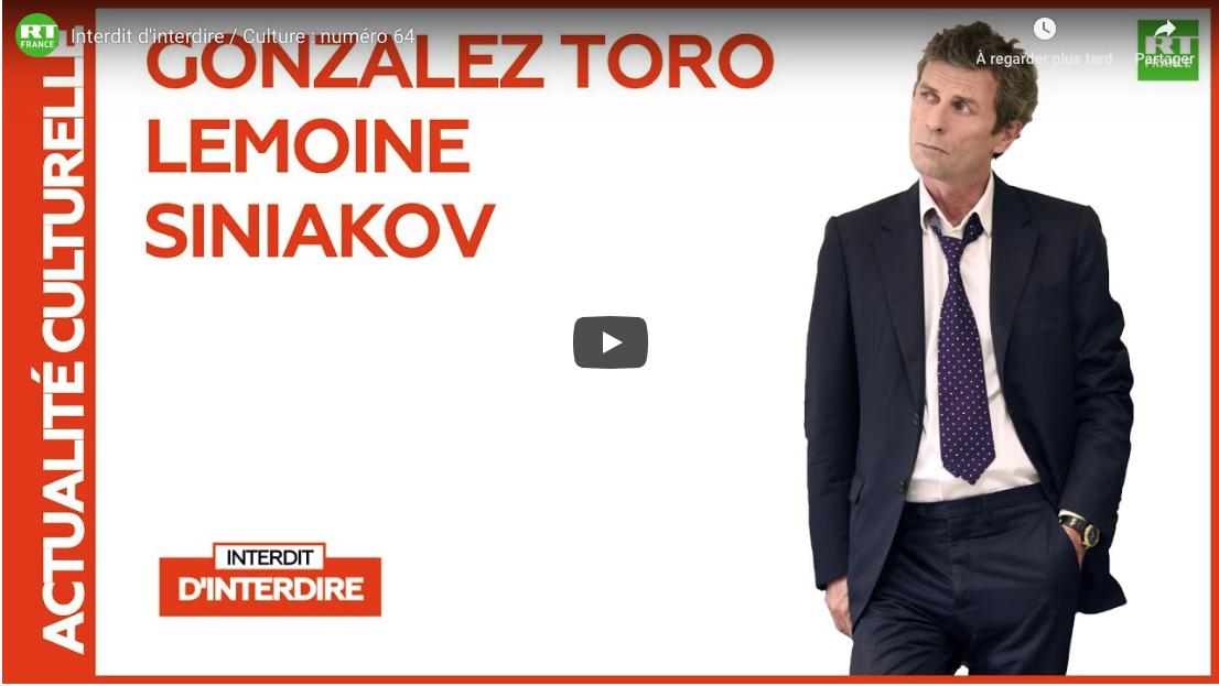 """Émission """"Interdit d'interdire"""" de Frédéric Taddeï sur RT France avec la participation du P. Alexandre Siniakov"""