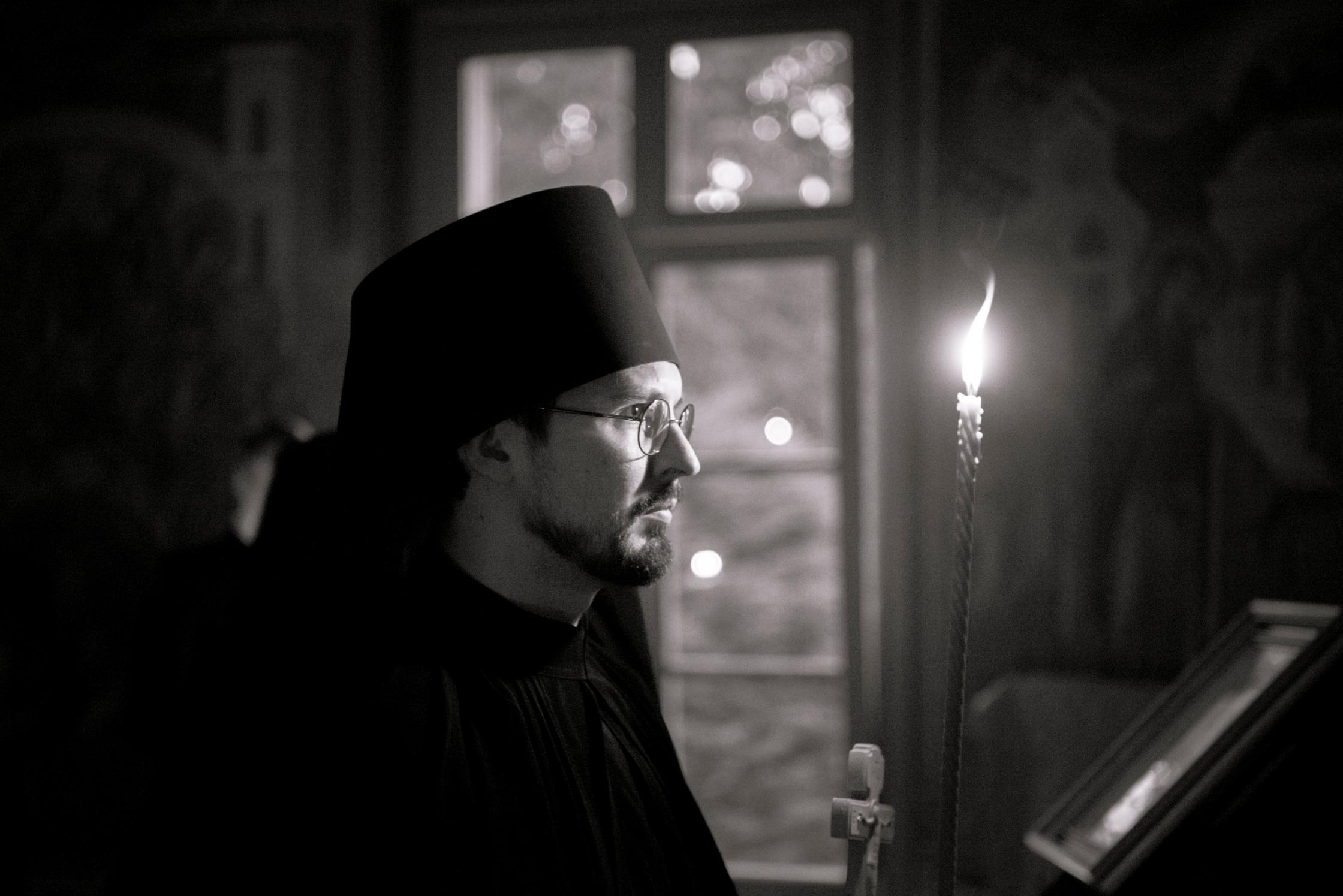 Kirill Gribov tonsuré moine avec le nom d'Irénée