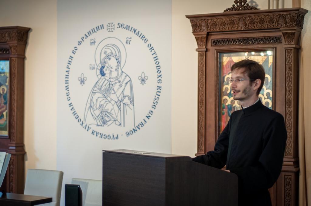 Discours du P. Alexandre Siniakov, recteur du Séminaire, à la cérémonie de clôture de l'année académique 2013-2014