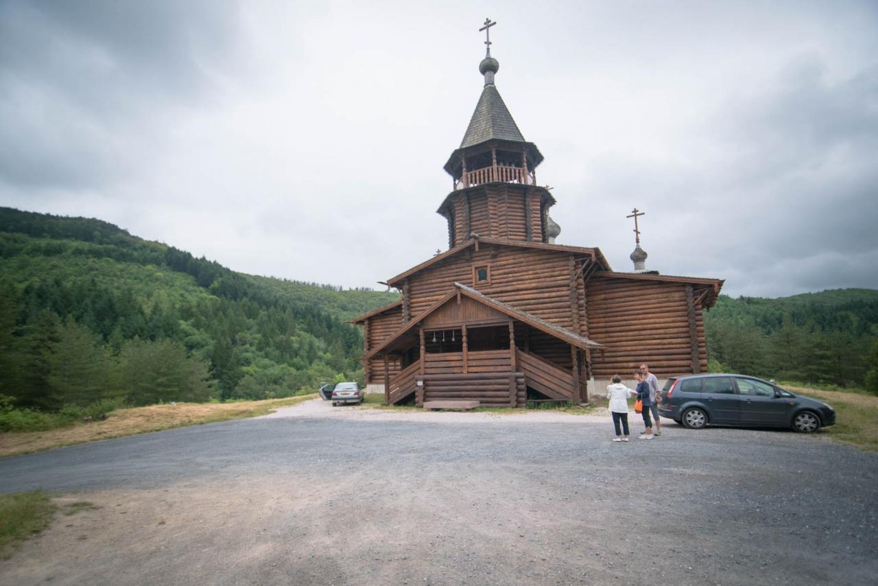 Prochaine liturgie dans l'église en bois de Sylvanès le 23 juillet