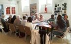 Le service du catéchuménat du secteur Brunoy-Val d'Yerres a passé une journée au séminaire