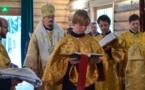 Alexey Morozov reçoit la tonsure de lecteur