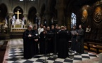 La choeur du Séminaire a participé aux vêpres orthodoxes à Notre-Dame de Paris