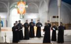 Concert de nos séminaristes à Saint-Honoré d'Eylau à Paris au profit de l'institut Saint-Serge