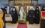 Discours du patriarche Cyrille après la prière dans la chapelle du Séminaire