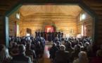 Photographies du concert du choeur du Séminaire à l'église russe de Sylvanès