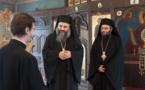 Deux métropolites du patriarcat d'Antioche nous ont rendu visite