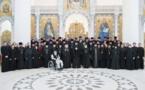 Notre communauté a participé à l'assemblée du clergé du diocèse de Chersonèse