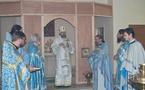 Mgr Innocent a célébré une liturgie au séminaire