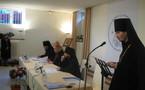 Discours d'ouverture du hiéromoine Alexandre à la cérémonie d'inauguration du séminaire
